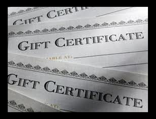 Beyond The Wake Gift Certificates