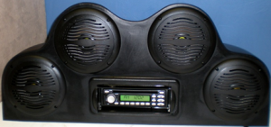 Outdoor Audio Systems ATV Deluxe Speaker Cover