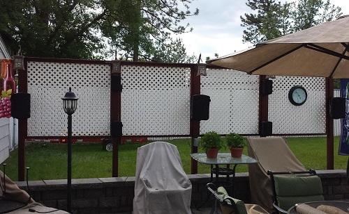 Marvelous Custom Outdoor Speaker Covers Beyond The Wake Interior Design Ideas Clesiryabchikinfo